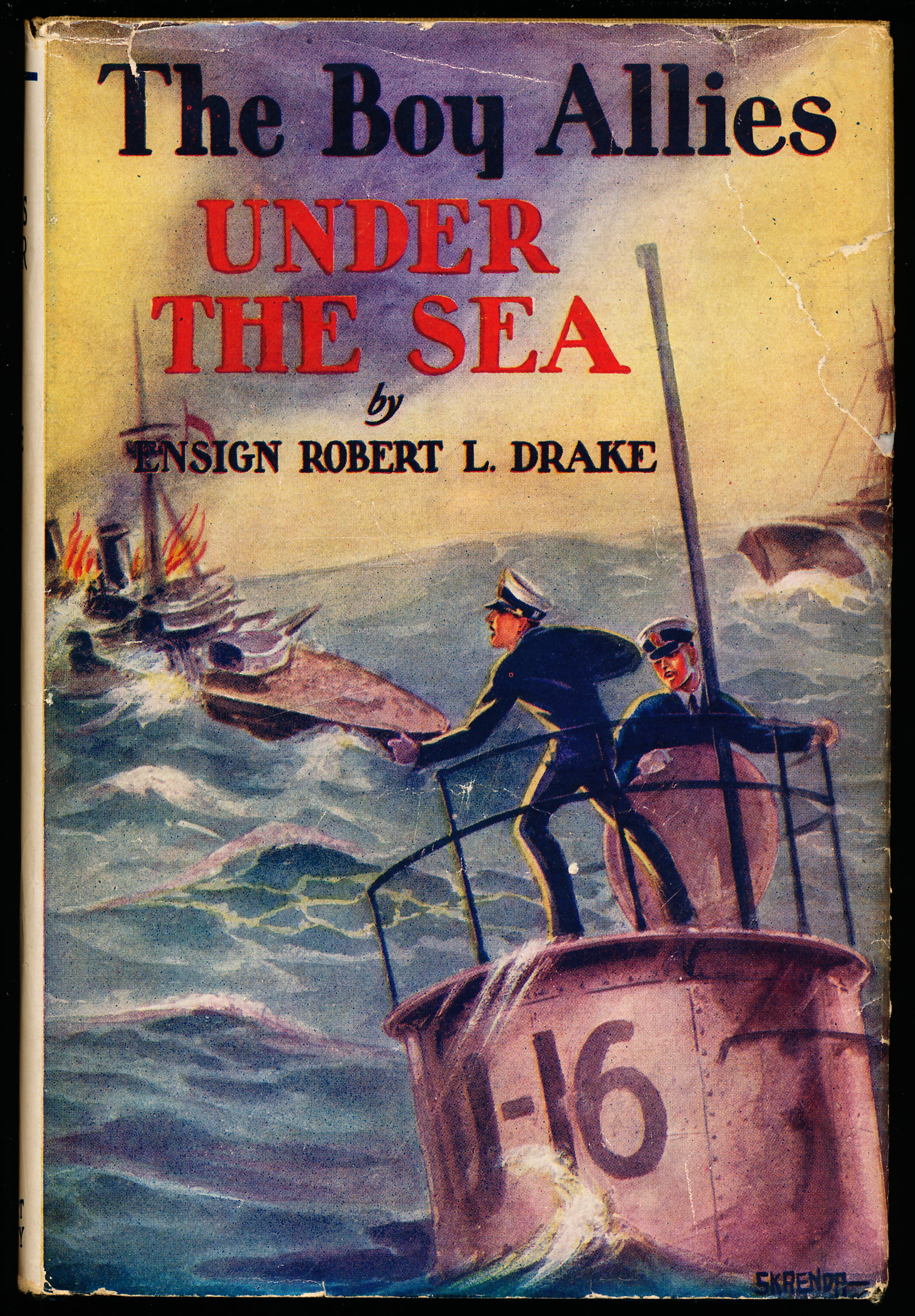 Image for THE BOY ALLIES UNDER THE SEA, or The Vanishing Submarines.