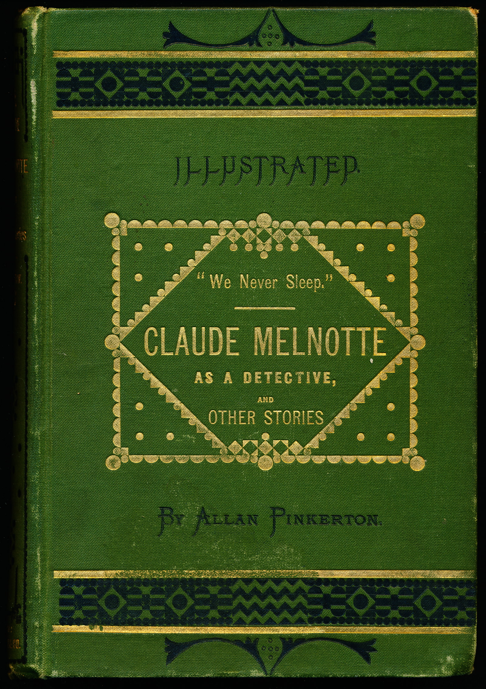 Image for CLAUDE MELNOTTE AS A DETECTIVE AND OTHER STORIES.