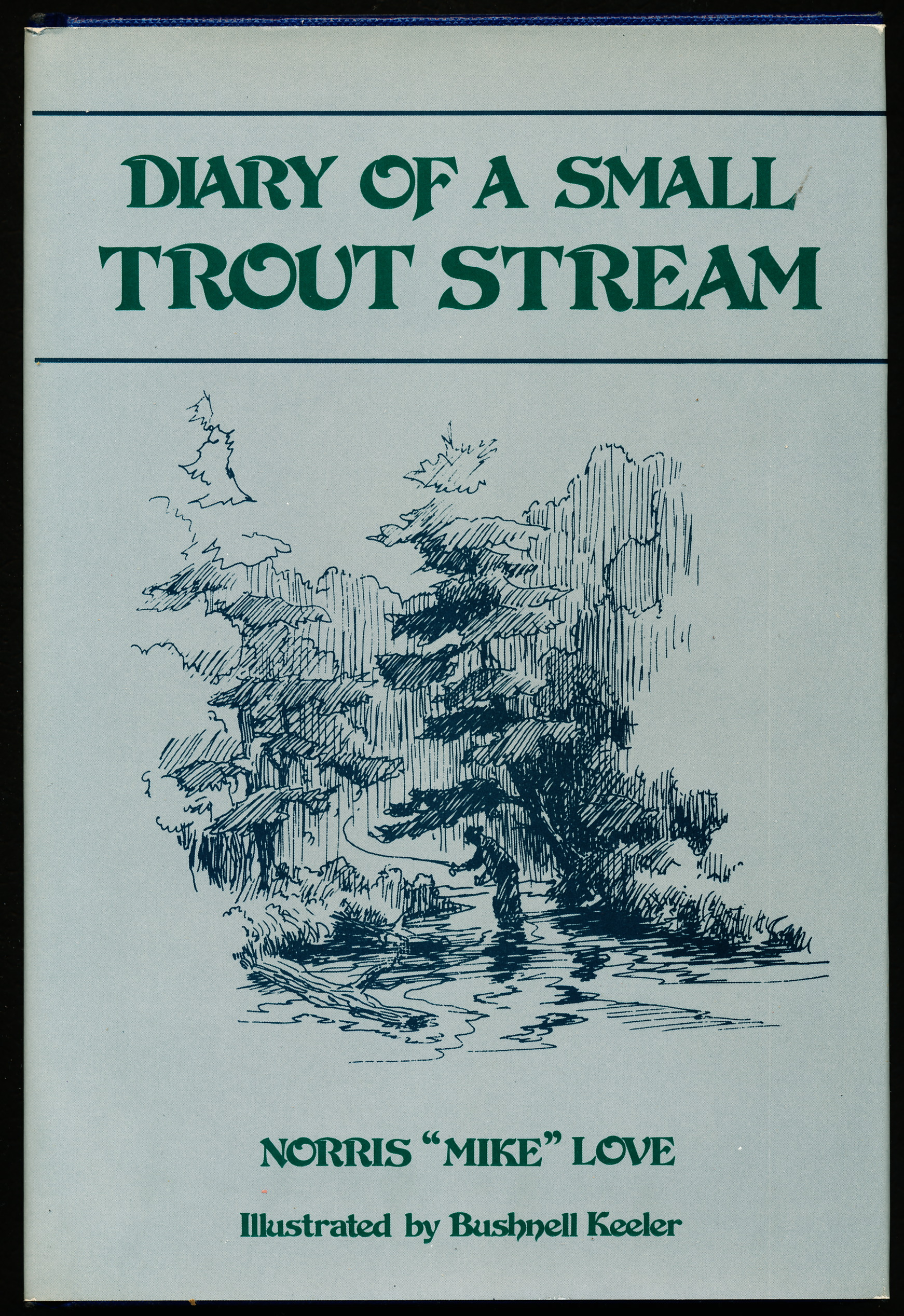 Image for DIARY OF A SMALL TROUT STREAM.
