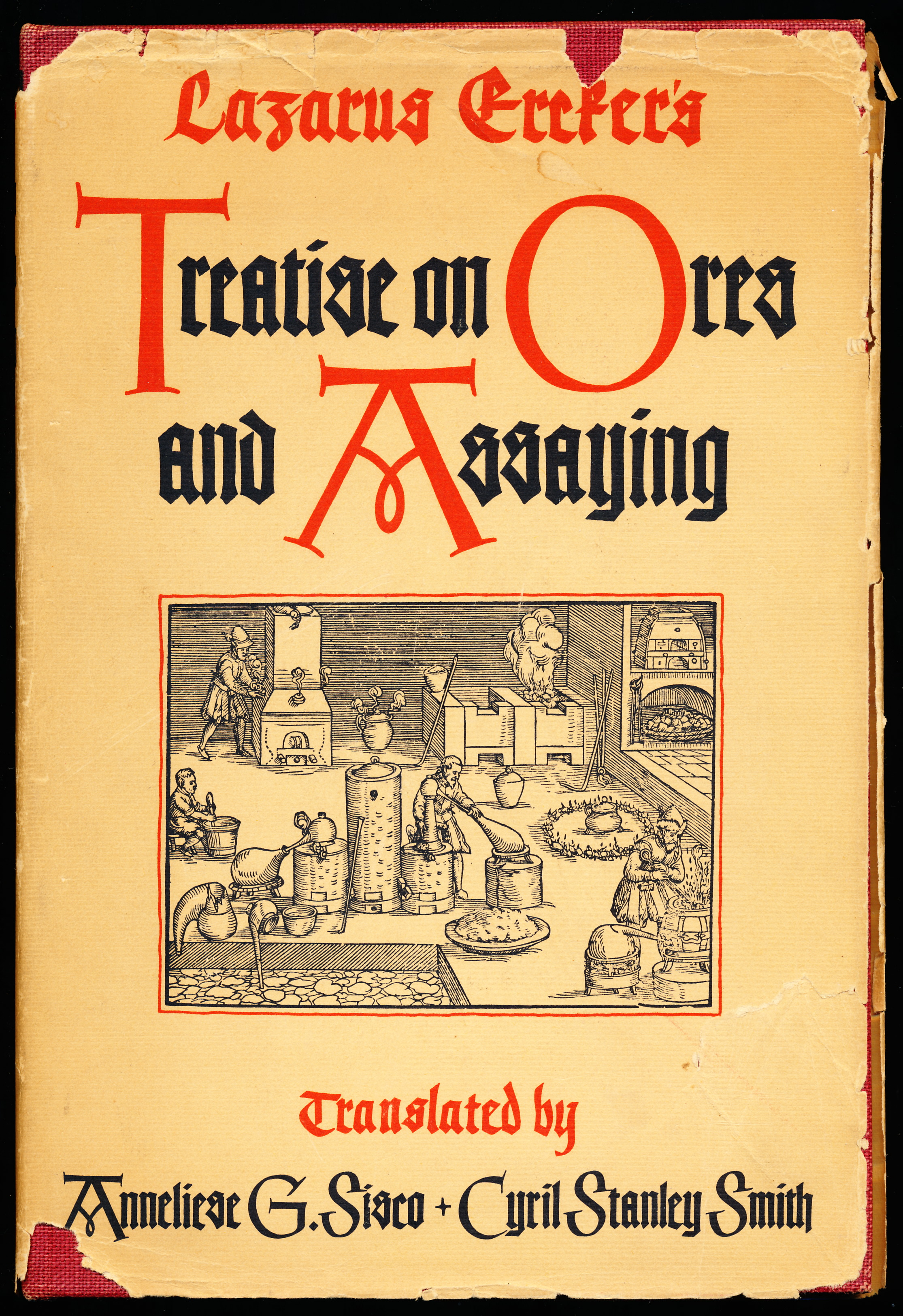 Image for Lazarus Ercker's Treatise on Ores and Assaying.