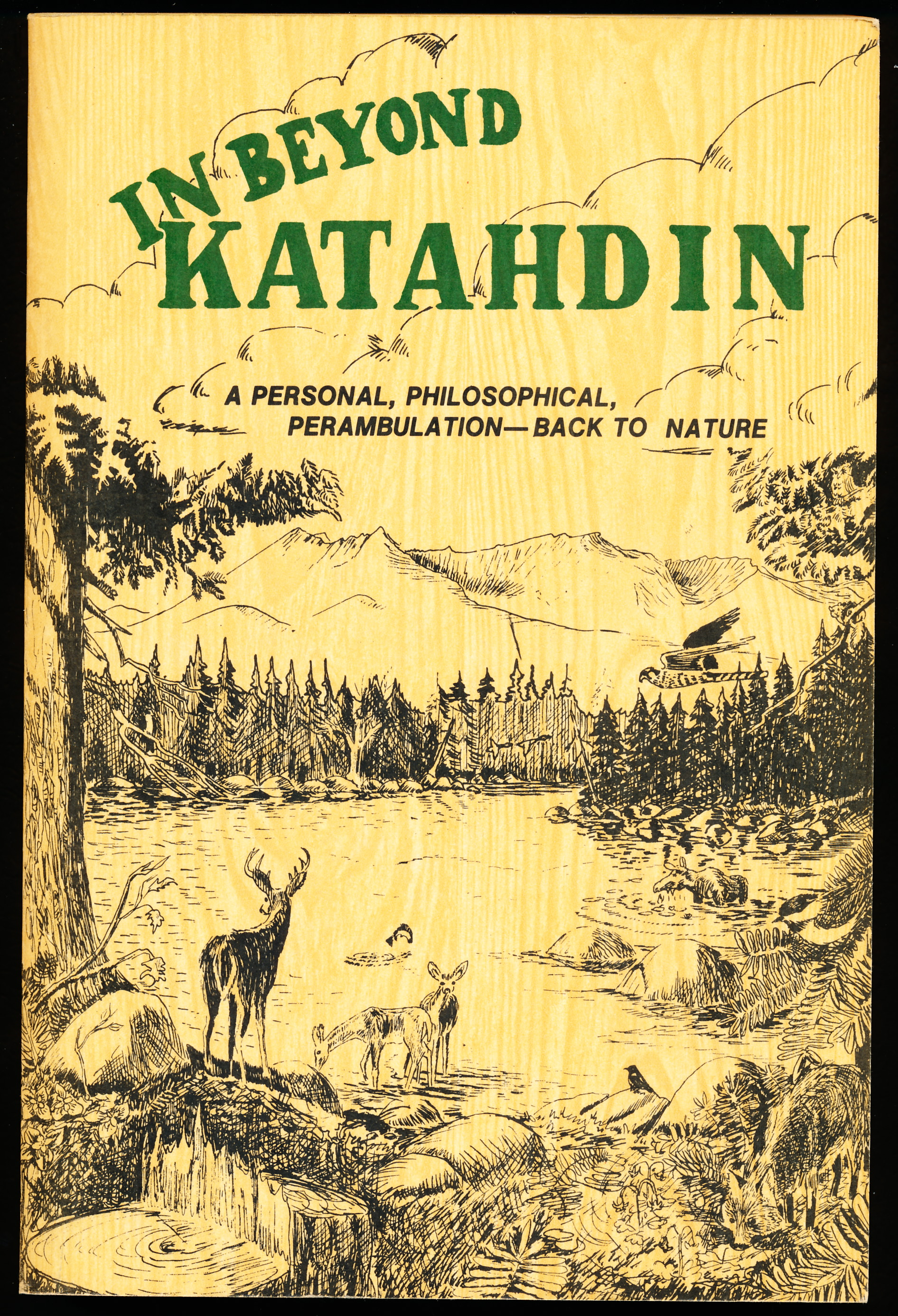 Image for IN BEYOND KATAHDIN. A Personal, Philosophical, Perambulation -- Back to Nature