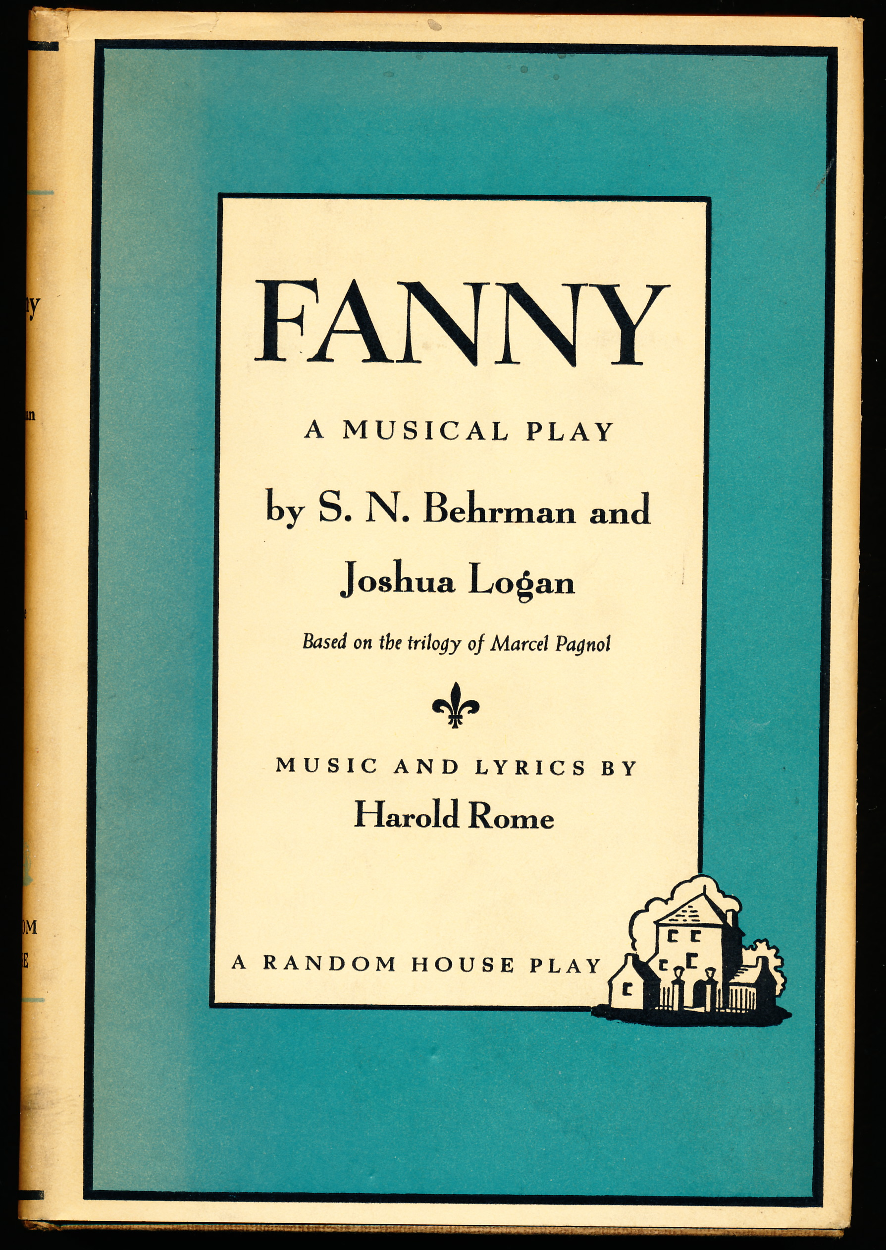 Image for FANNY.  A Musical Play